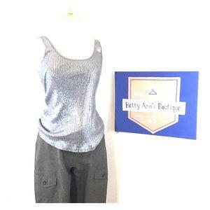 NY Jeans Ladies Grey Cargo Dress Slacks